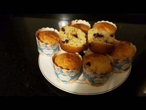 How To Make Easy Chocolate Chip Muffins \ Jennat For Kids Talents