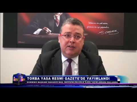 TORBA YASA RESMİ GAZETE'DE YAYIMLANDI
