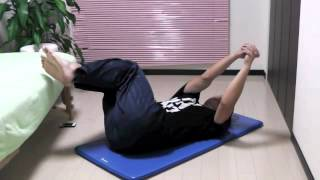 肩こり・腰痛改善3分クリニック56 プローントランクローテーション