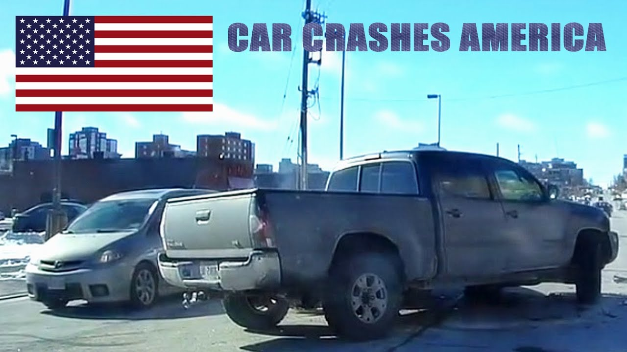 CAR CRASHES IN AMERICA #29 | BAD DRIVERS USA, CANADA