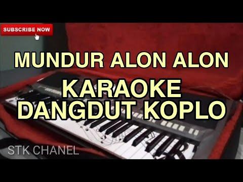 Nada Cewe Mundur Alon Alon Karaoke