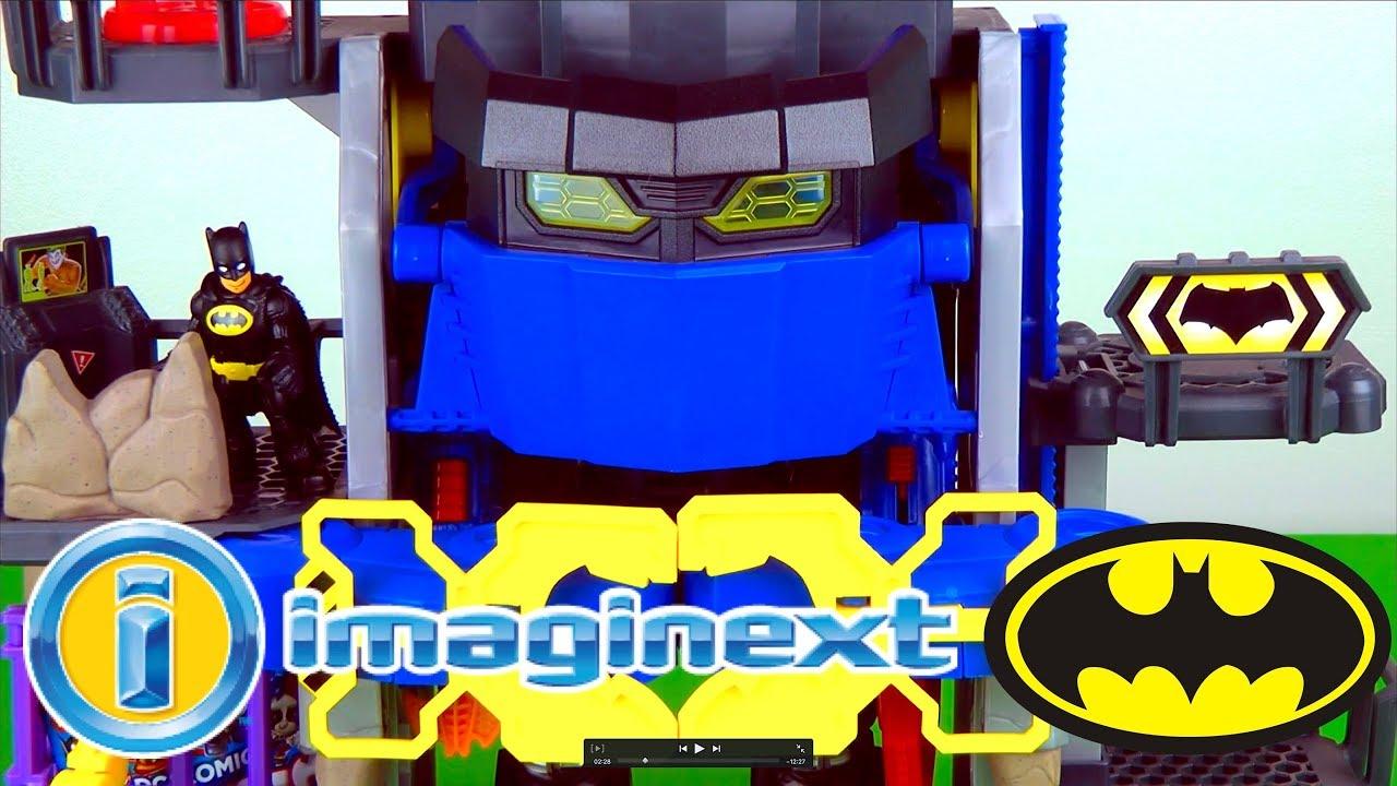 Imaginext Batman Robot Batcave Surprise Toy Ooshies Video for Children Toy Factory TV