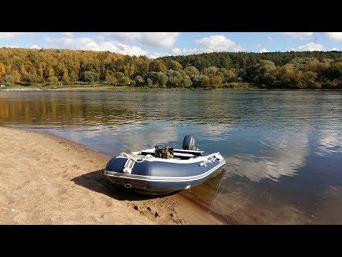 Обзор лодки Солар 380 часть 1