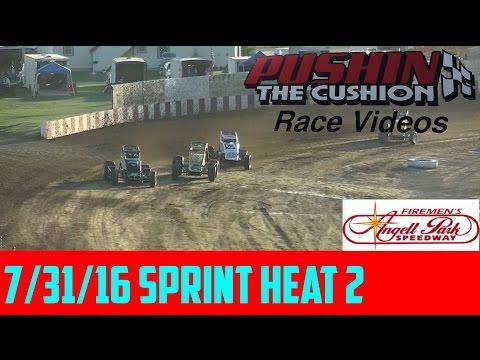 7/31/16 Angell Park Speedway: Sprint Heat 2