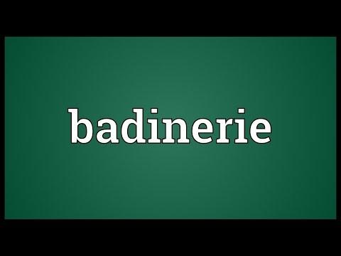 Header of badinerie
