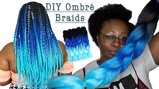 STOP USING THE RUBBER BAND METHOD & BRAID YOUR HAIR LIKE THIS!!!