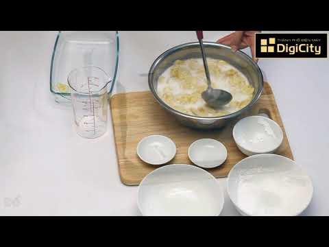 Cách làm Bánh Chuối Hấp Nước Cốt Dừa Nấu Nhanh