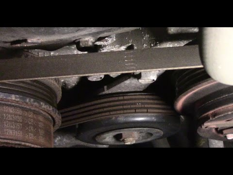 diagnosing engine noise and replacing the belts on a 2008 infinitidiagnosing engine noise and replacing the belts on a 2008 infiniti fx35