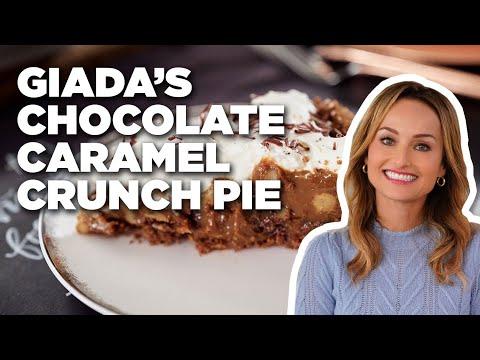 How To Make Giada's Chocolate Caramel Crunch Pie | Food Network