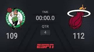 Celtics @ Heat | NBA on ESPN Live Scoreboard | #WholeNewGame