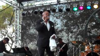 Peabo Bryson Performs Can You Stop The Rain live at he BB Jazz Festival 2012