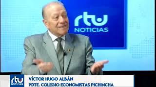 VÍCTOR HUGO ALBÁN EN RTU NOTICIAS