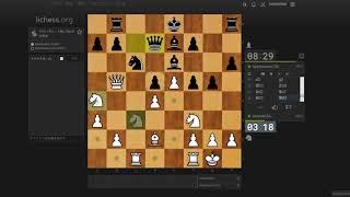 【チェス実況Part203】5手目クイーンc7!?見たことのないフレンチディフェンス(French Defense ; Advance Variation)