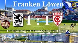 TSV 1860 München - 1:1 gegen Hallescher FC zu Hause