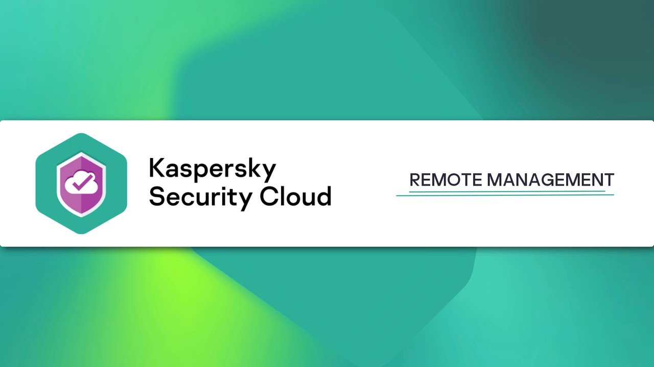 How to manage Kaspersky Security Cloud 20 remotely through My Kaspersky