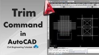 AutoCAD #10 - How to use TRIM Command in AutoCAD | 4 Methods Explained | AutoCAD Basics
