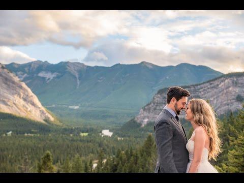 First time travel to Banff-Alberta to take wedding photos!