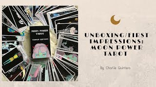Moon Power Tarot: Unboxing/First Impressions