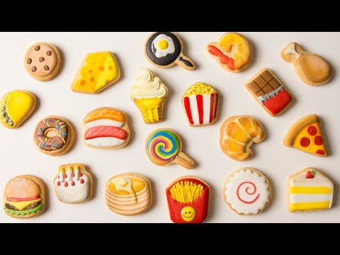 FOOD EMOJI COOKIES! Time Lapse Video