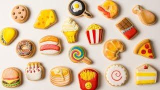 FOOD EMOJI COOKIES! Time Lapse Video