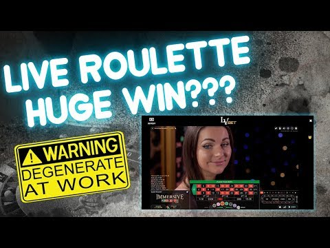 Live Roulette Session!! BIG WIN???