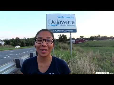 50 States Adventure Road Trip - State #44:  Delaware