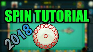 Spin Tutorial : 8 Ball Pool - How to Use Spin - 8 Ball Pool [Hindi]