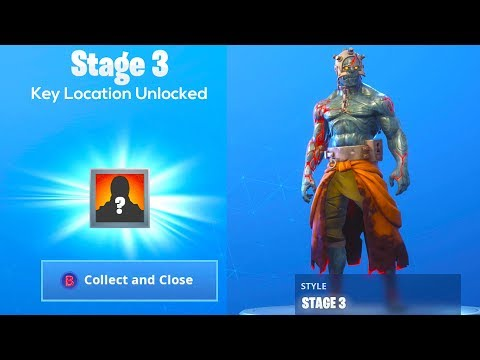 How to UNLOCK PRISONER SKIN STAGE  KEY LOCATION in Fortnite..