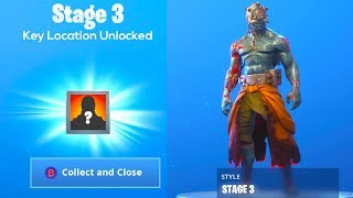 How to UNLOCK PRISONER SKIN STAGE 3 KEY LOCATION in Fortnite..
