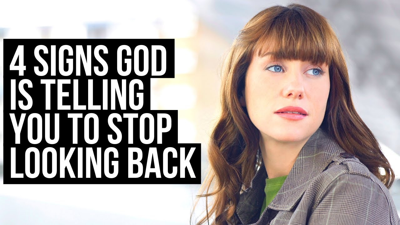 When God Is Telling You to Stop Looking Back, This Will Happen to You . . .