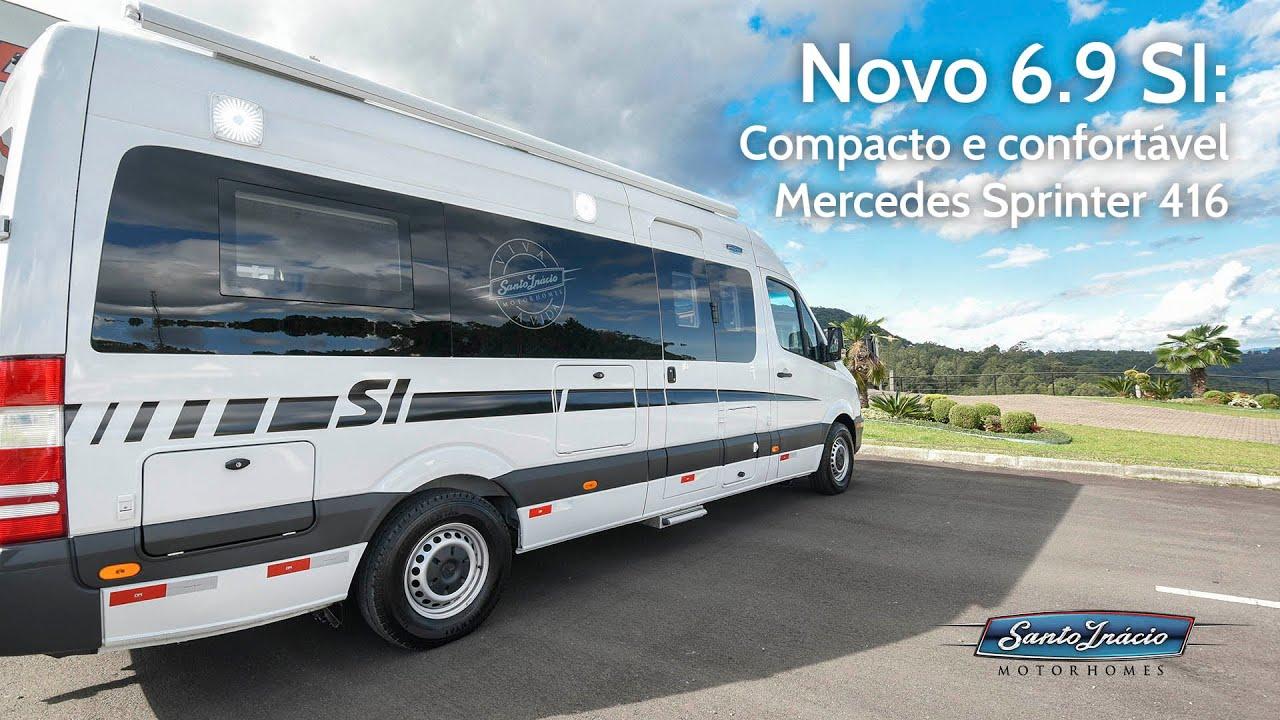 6.9 SI - Motorhome Sprinter 416 Furgão Teto Alto - COMPACTO E CONFORTÁVEL PARA VIVER A VIDA
