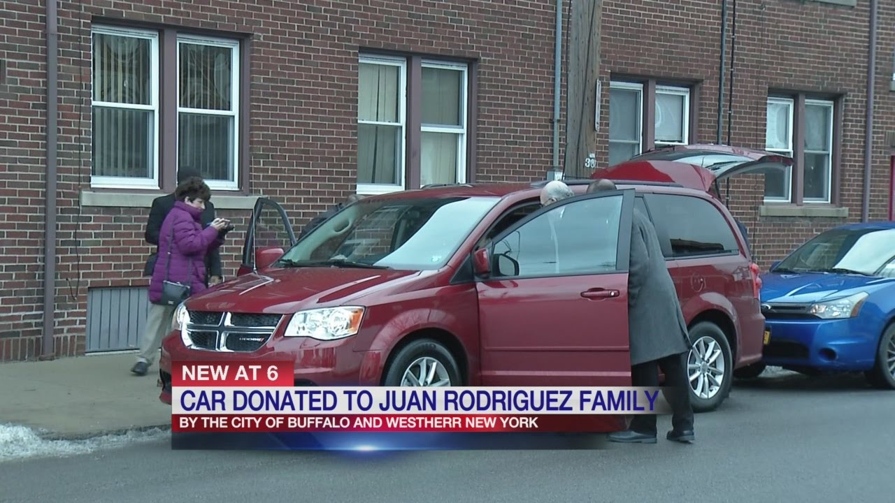 Car Donated To Juan Rodriguez's Family
