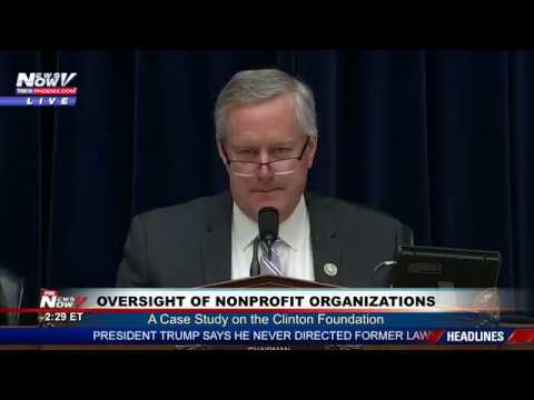 FULL CLINTON FOUNDATION Investigation U.S. House Hearing