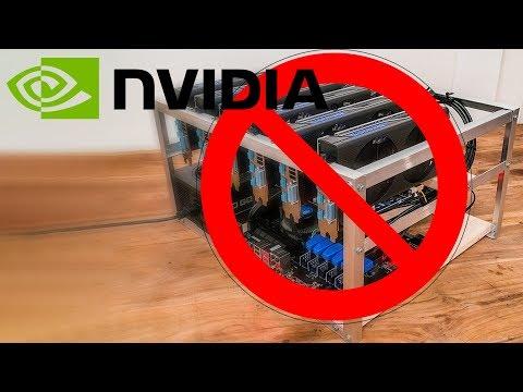 Nvidia no quiere venderle a los mineros de Criptomonedas - Proto HW & Tec