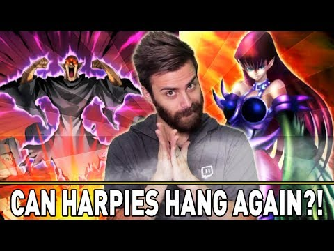 CAN HARPIES HANG?! WILL IT WORK?! | YuGiOh Duel Links PVP Mobile & Steam  w/ ShadyPenguinn