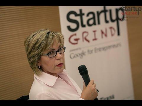 Monika Farka (Dynamics Partners) at Startup Grind Tirana