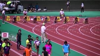 第59回北陸陸上競技選手権大会女子100m決勝