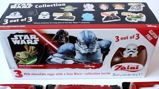 STAR WARS Eggs Surprise PEZ Candys Unboxing #35