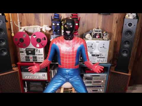 Spider-Man Rubber Catsuit From Aqua Latex (Latex Catfish)