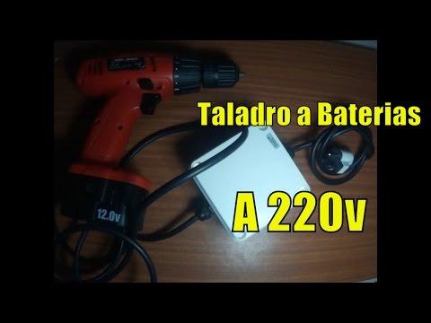 Tutorial | Taladro a Bateria Reforma para Conectar a 220v