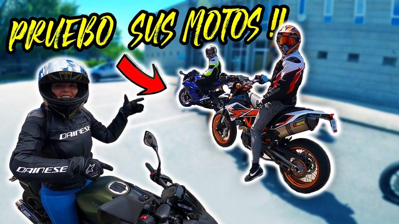 PRUEBO una R6 y una KTM SMC 690 para A2 - MENUDAS MOTOS! / COMPOS