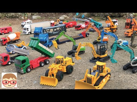 Excavator videos for children | Trucks for children | Construction trucks for children |