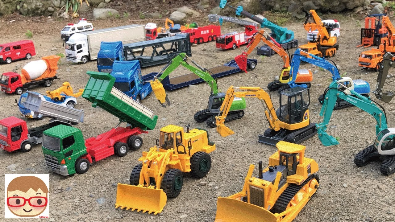 Download Excavator videos for children | Trucks for children | Construction trucks for children |