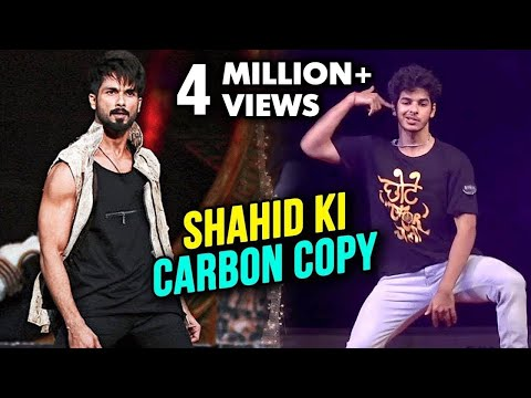 Ishaan Khatter Dancing EXACTLY Like Brother Shahid Kapoor | Beyond the Clouds Song Launch