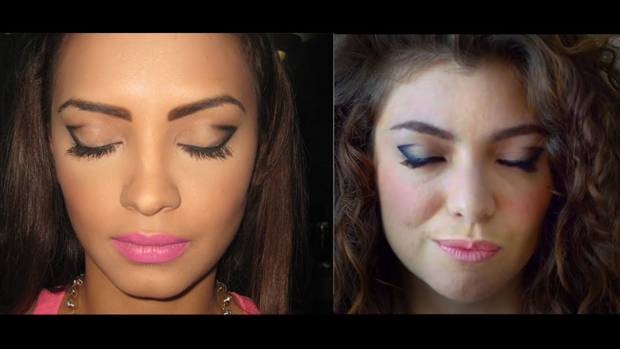 Lorde Royals Music Video Inspired Makeup Tutorial Youtube