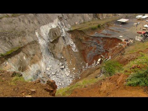 Second Landslide Halts Rescue Operations At Lily Mine