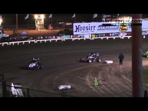 Ocean Speedway 8-9-13 :: USAC/CRA Sprint Cars