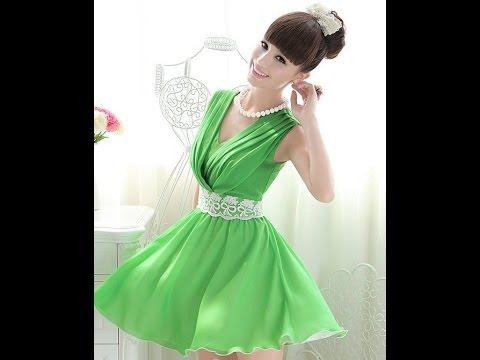 ЗЕЛЕНОЕ ПЛАТЬЕ - фото - 2019 / Green Dress - Photo