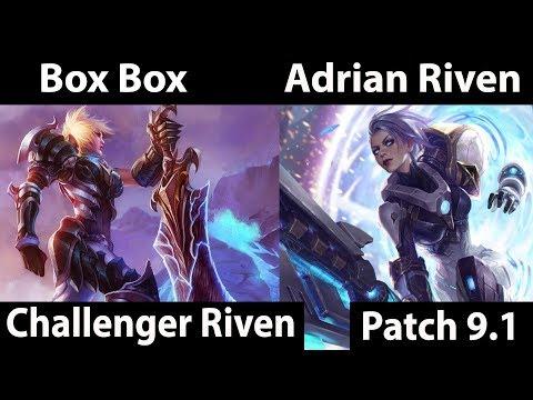 Box Box vs Adrian Riven - Riven SoloQ