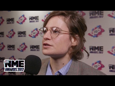 Christine & The Queens' Héloïse Letissier talks second album plans @ VO5 NME Awards 2017